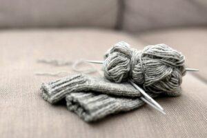 Как связать шерстяные носки