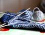 Как вязать мысок носка