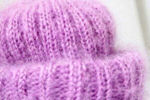 Как связать шапку из мохера