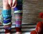С чем носить гетры вязаные