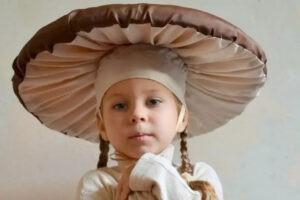 Как сделать шляпу гриба