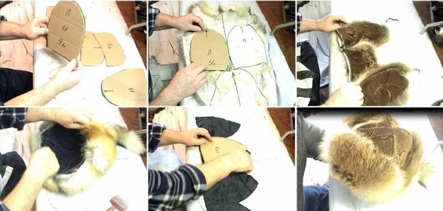 Как сшить меховую шапку в домашних условиях