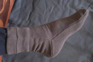 Как сшить флисовые носки