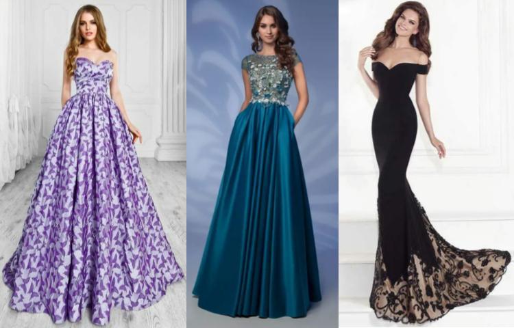 Выбрать вечернее платье красивое